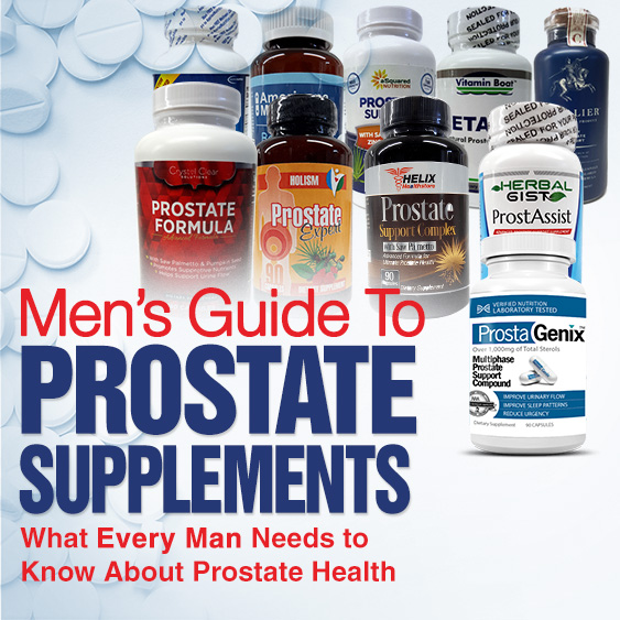 Men's Guide To Prostate Supplements